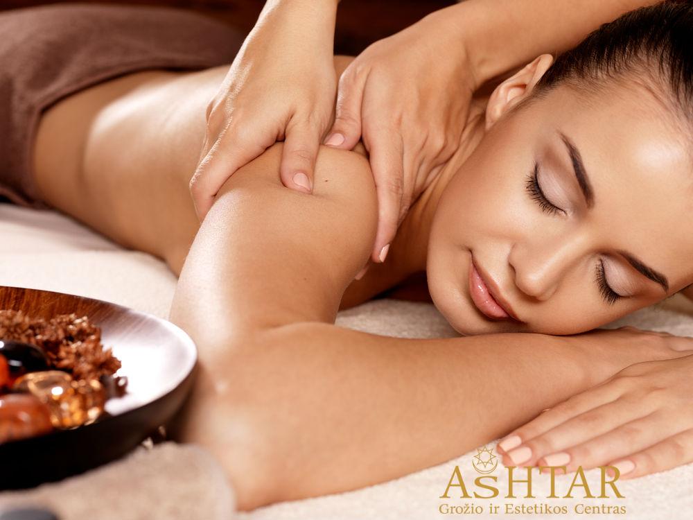 Ashtar grožio centras Klaipėdoje procedūros kūnui, atpalaiduojantys masažai, liekninančios procedūros, celiulita mažinančios ir šalinančios procedūros